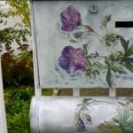 Briefkasten Kreidefarbe