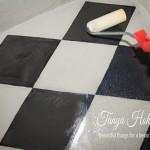 Boden streichen mit Kreidefarbe