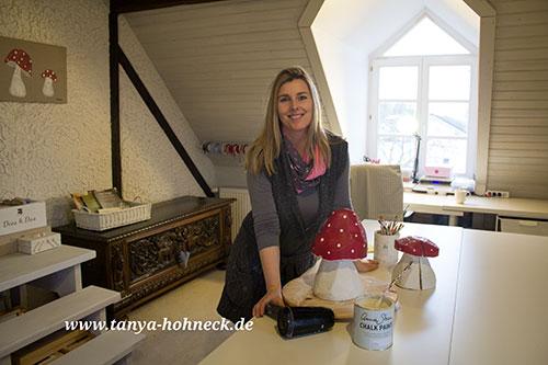 Tanya-Hohneck-Atelier-mit-Fliegenpilz