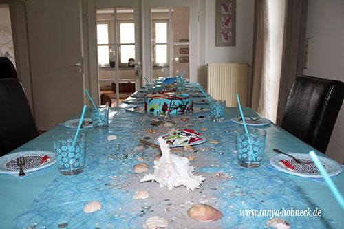 H2O_Kindergeburtstag_Meerjungfrau_Tischdeko