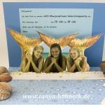 h2O Plötzlich Meerjungfrau Geburtstagsparty Einladungskarte