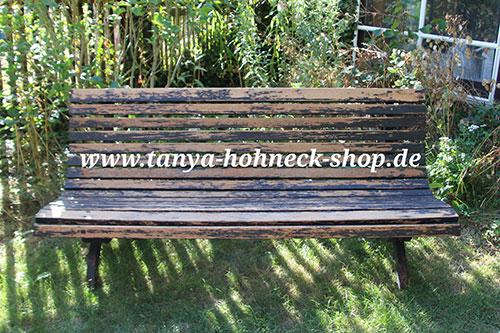 Top Gartenbank streichen mit Versante Kreidefarben von Autentico QN45