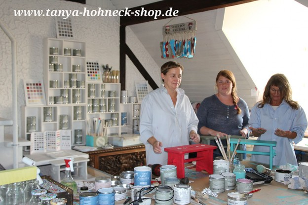 Workshop Grundtechniken Kreidefarben Chalk Paints Autentico Kurs Deutschland