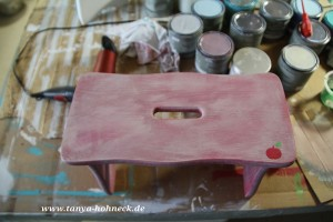 autentico, chalk, paint, kurs, workshop, deutschland, kreide, farbe, ruby, rot
