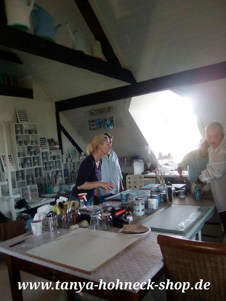 Malkurs, Kreidefarbe, Autentico, workshop, kurs, moebel, upcycling, atelier, kreativ, vintage, chalk, paint, shabby