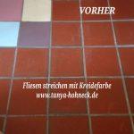 Fliesen streichen, Autentico, chalk, paint, Kreidefarbe, Versante, Deutschland, Anleitung, Anwendung