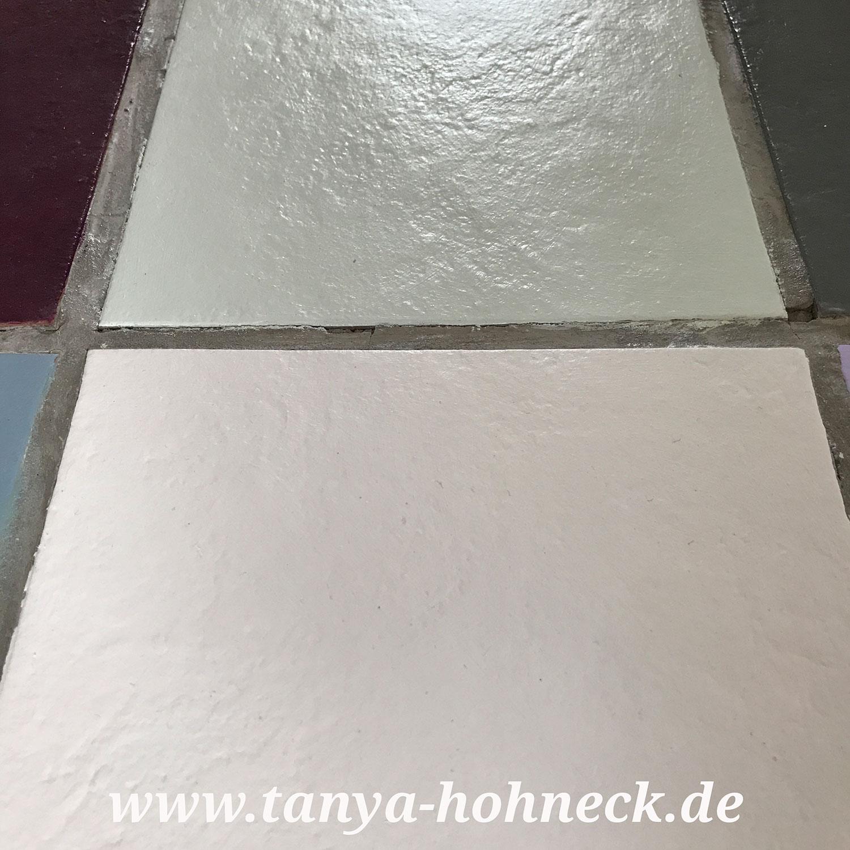 Fabulous Fliesen streichen Autentico chalk paint Kreidefarbe und HM57