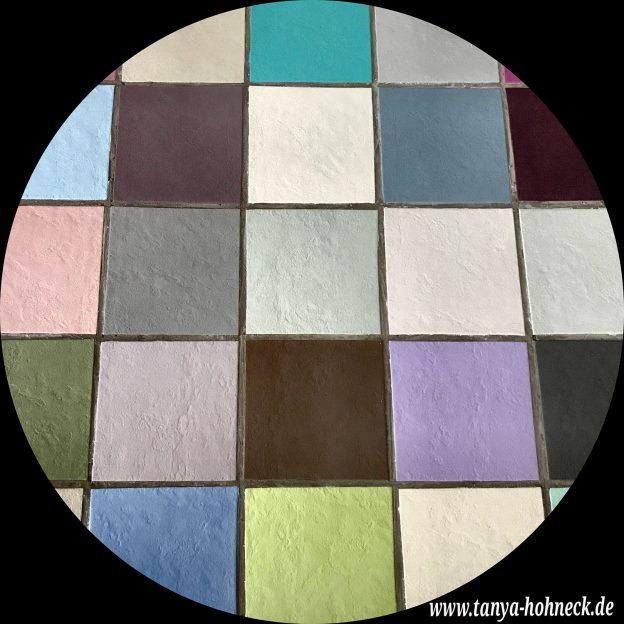 Fussboden streichen, Fliesen in Badezimmer, Küche, Flur, etc. mit Kreidefarbe Versante Matt von Autentico