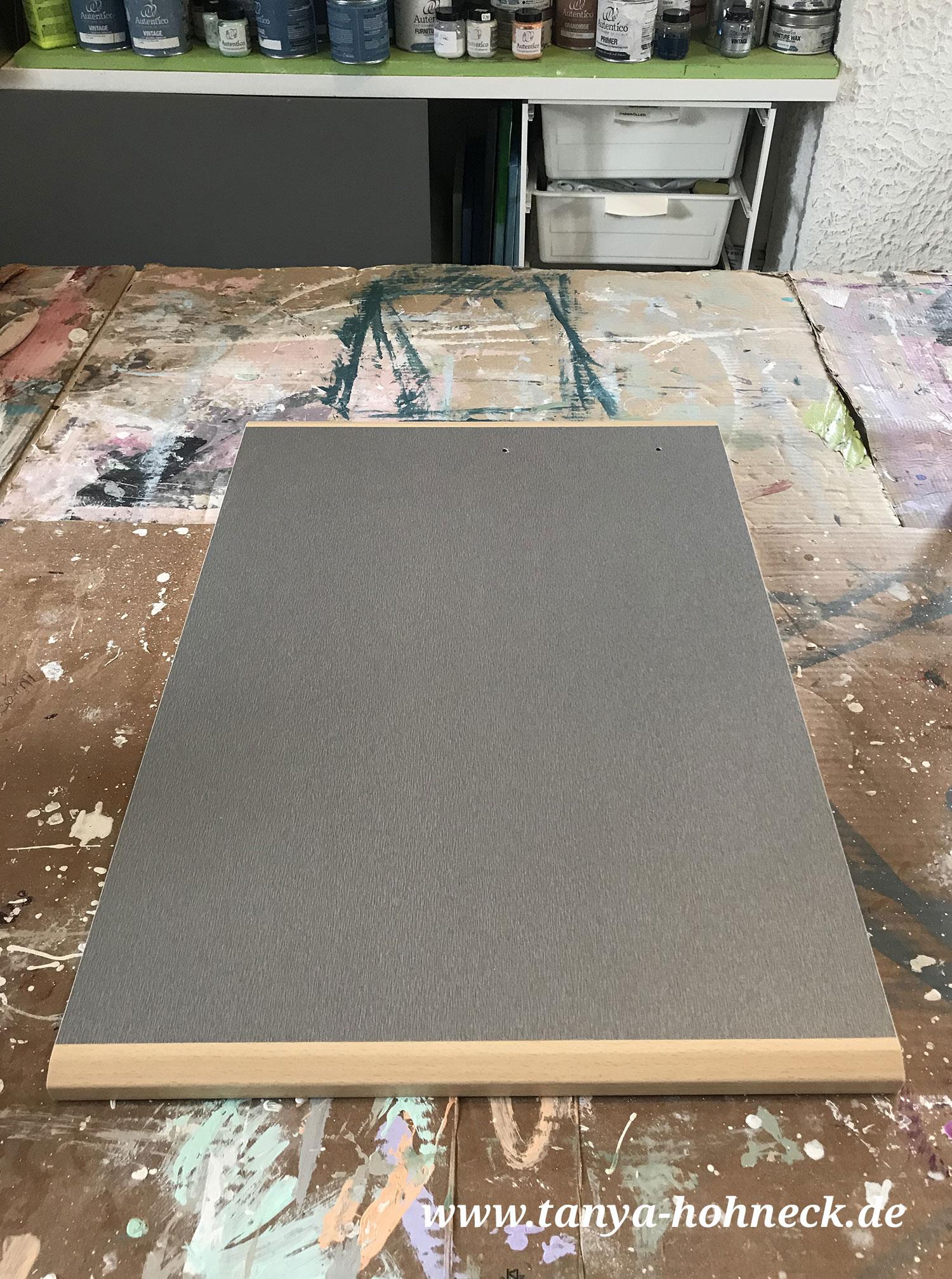 Einbau-Küche streichen: Möbel Fronten renovieren mit ...